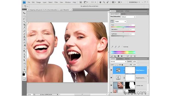 Correcting color: Photoshop CS4 Getting Started