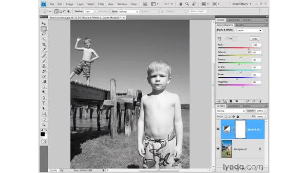 Black and white: Photoshop CS4 Getting Started
