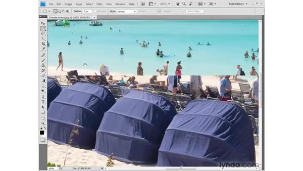 Resizing an image: Photoshop CS4 Getting Started