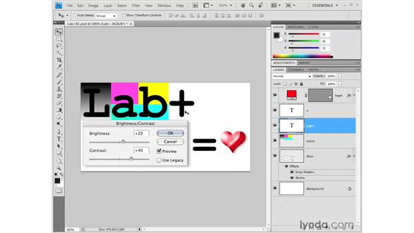 Adding text: Photoshop CS4 Getting Started
