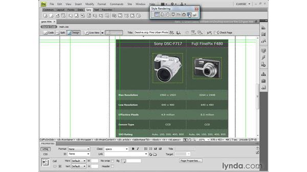 Understanding Spry datasets: Dreamweaver CS4 New Features