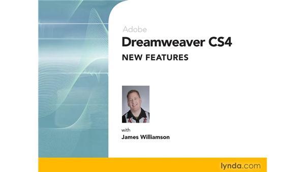 Goodbye: Dreamweaver CS4 New Features