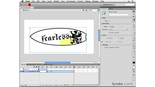 Creating 3D animations: Flash CS4 Professional New Features