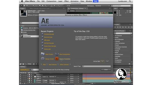 Welcome: After Effects CS4 New Features