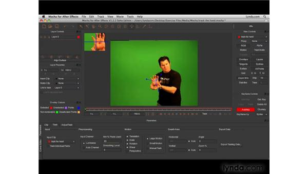 3D tracking with Mocha: After Effects CS4 New Features