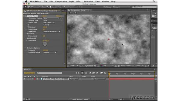 Improvements to Fractal Noise: After Effects CS4 New Features