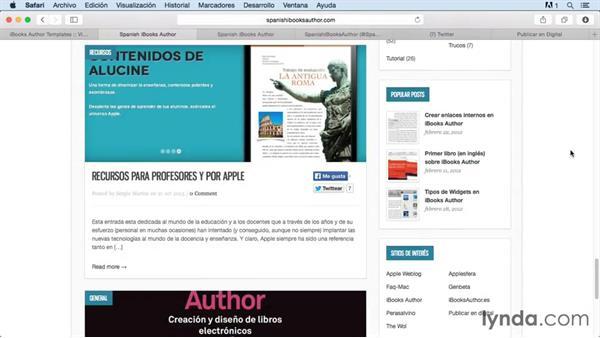 Despedida del curso iBooks Author Novedades 2 2