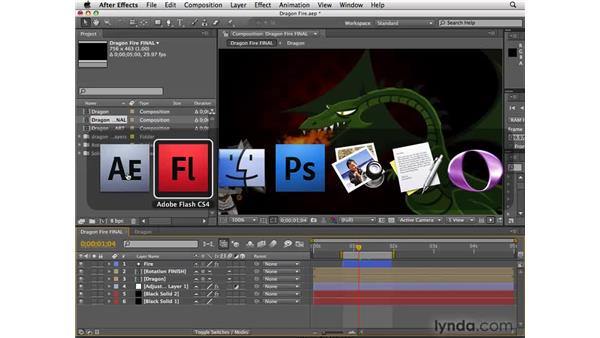 Exporting After Effects projects to Flash using XFL: After Effects CS4 New Features