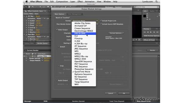 Rendering F4V files: After Effects CS4 New Features