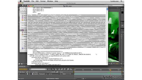 Exporting to XML: After Effects CS4 New Features
