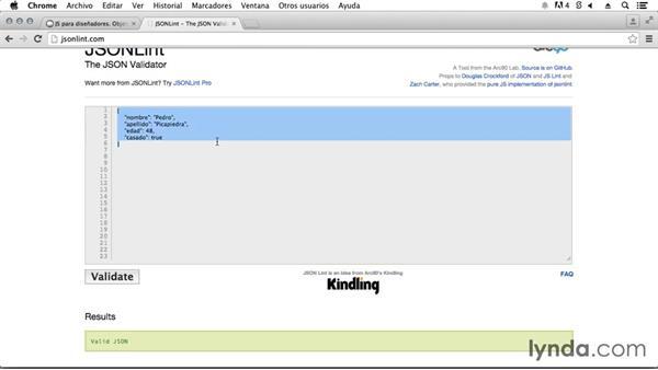 El Formato Json Y Los Objetos En Javascript