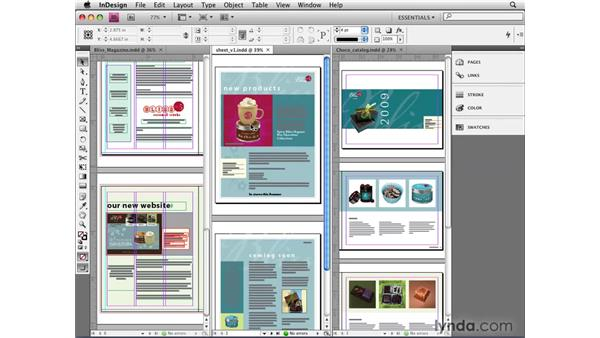 Working with tabbed windows: InDesign CS4 New Features