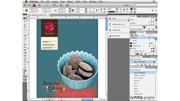 Exploring the new workspaces and panels: InDesign CS4 New Features