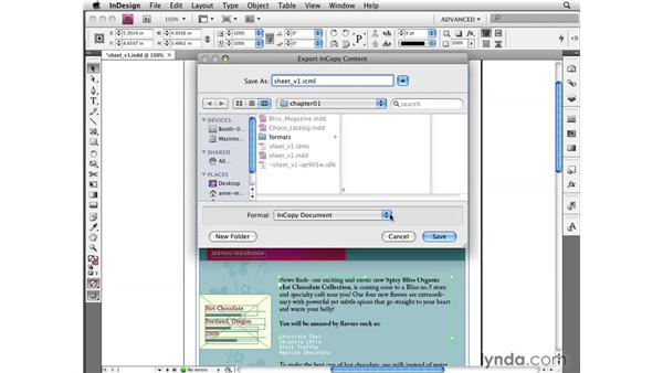 Using new file formats: InDesign CS4 New Features