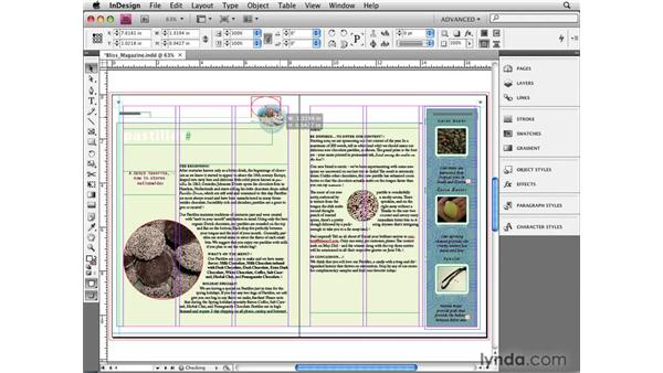 Working with the Smart Cursor: InDesign CS4 New Features