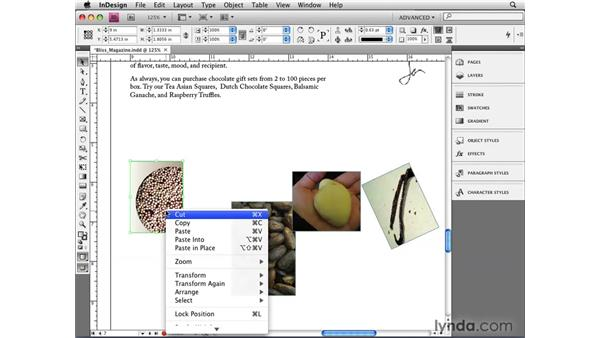 Using Smart Guides for dimension, spacing, and rotation: InDesign CS4 New Features