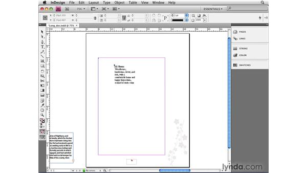 Auto-flowing text with Smart Text Reflow: InDesign CS4 New Features