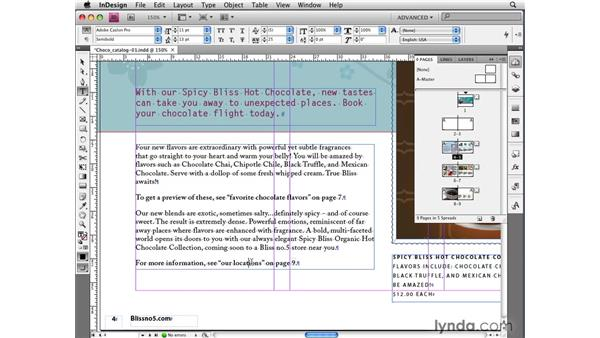 Getting familiar with cross references: InDesign CS4 New Features