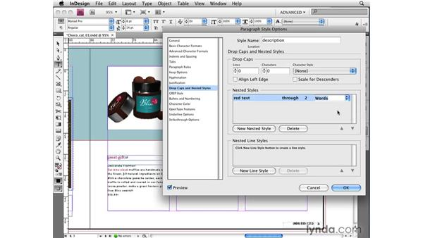 Creating nested line styles: InDesign CS4 New Features