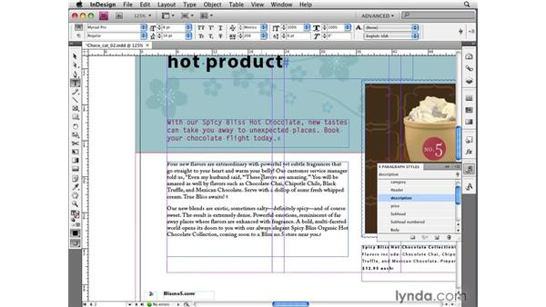 Dynamic GREP styles: InDesign CS4 New Features