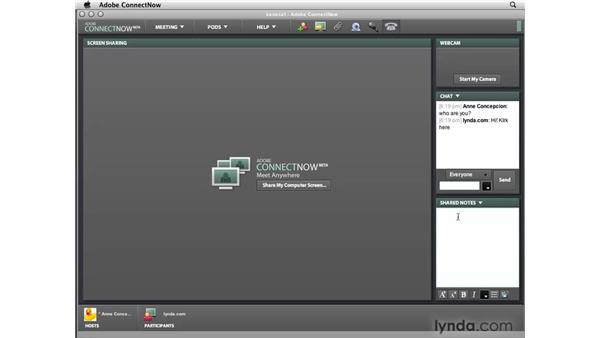 Sharing your InDesign screen on Acrobat.com: InDesign CS4 New Features