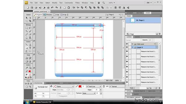 Using the enhanced vector tools: Fireworks CS4 New Features