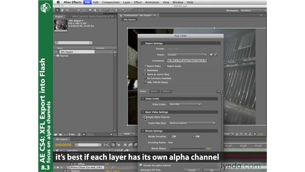 XFL Export into Flash: After Effects CS4 New Creative Techniques