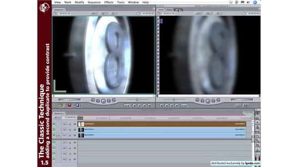 The classic technique: Adding a Filmic Glow to Your Footage Using Final Cut Pro