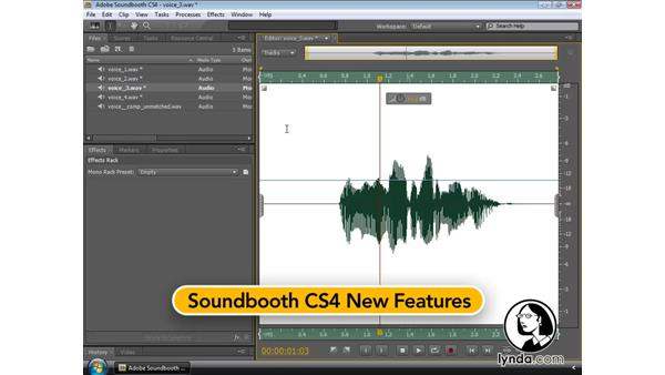 Introducing Adobe Soundbooth CS4: Soundbooth CS4 Essential Training