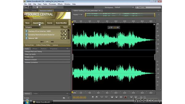 What is Resource Central?: Soundbooth CS4 Essential Training