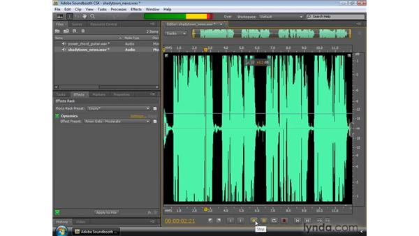Applying Dynamics: Soundbooth CS4 Essential Training