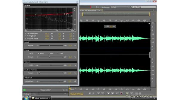 Mastering: Soundbooth CS4 Essential Training