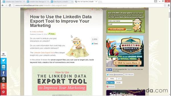 Targeting new audiences: LinkedIn Advertising Fundamentals