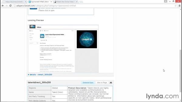 Sponsored InMail: LinkedIn Advertising Fundamentals
