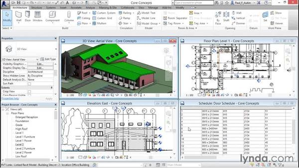 Introducing building information modeling (BIM): Revit Architecture 2016 Essential Training (Metric)