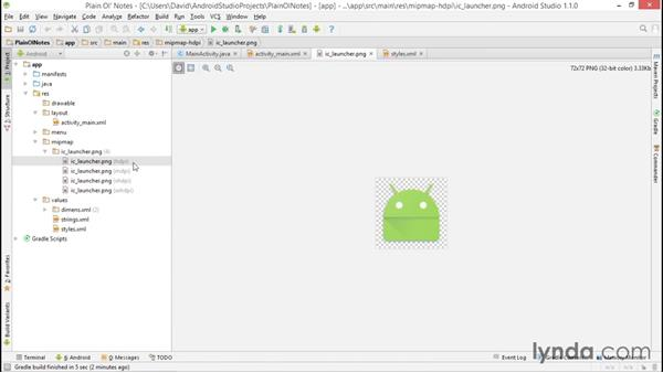 Creating the Android Studio project: Building a Note-Taking App for Android