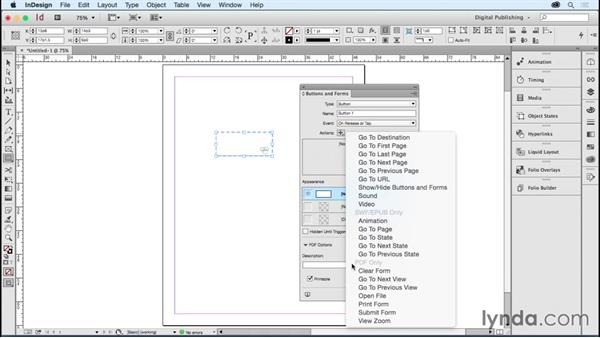 Customizing your workspace in InDesign: Developing Multistate Objects in InDesign
