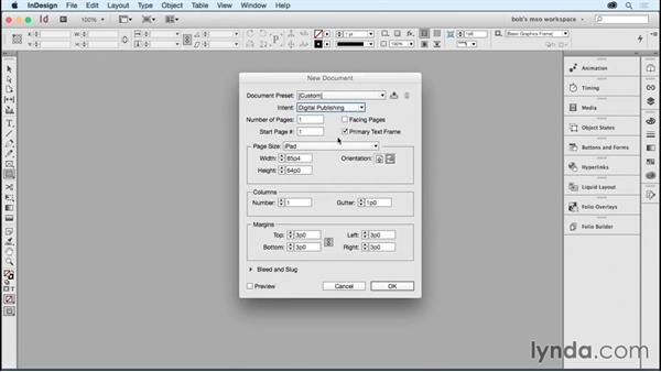 Creating a document for digital output: Developing Multistate Objects in InDesign