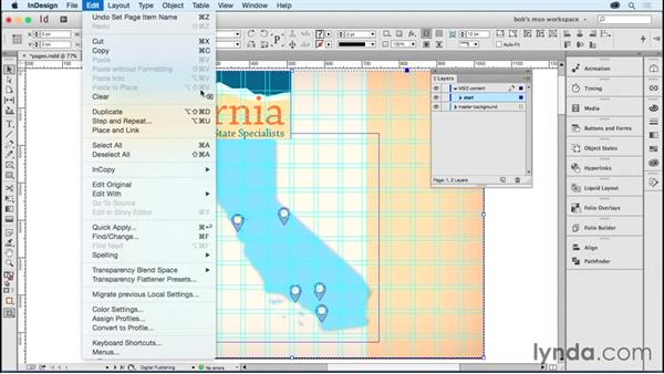 Using pages to create MSOs: Developing Multistate Objects in InDesign