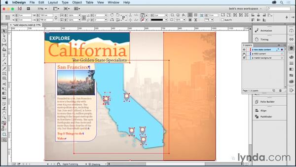 Adding multiple objects as states: Developing Multistate Objects in InDesign