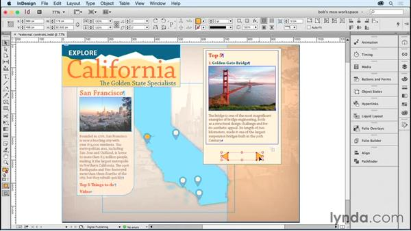 Using buttons outside MSOs: Developing Multistate Objects in InDesign
