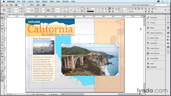 Using MSOs as a video mask (DPS only): Developing Multistate Objects in InDesign
