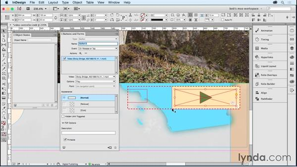 Using MSOs to create a video controller: Developing Multistate Objects in InDesign