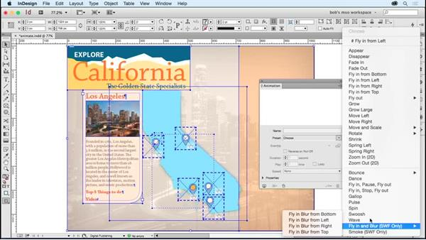 Using animations to add slide transitions (EPUB only): Developing Multistate Objects in InDesign