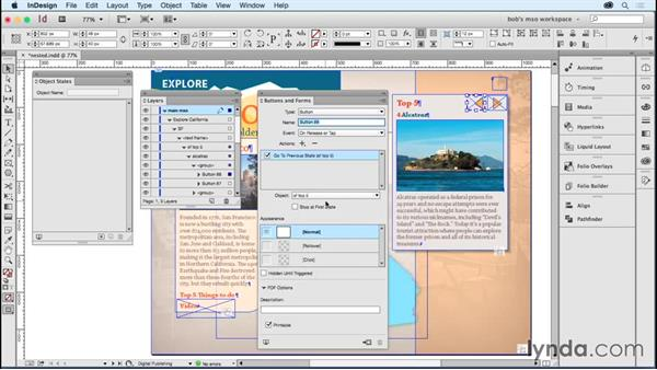 Adding objects to nested MSOs: Developing Multistate Objects in InDesign