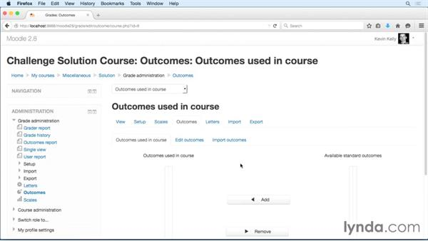 Solution: Perform tasks to set up your course: Moodle 2.8 Essential Training
