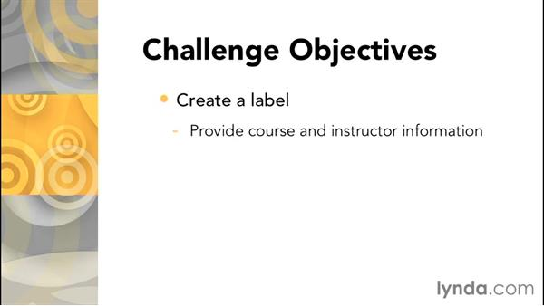 Challenge: Add resources to a section of a Moodle course: Moodle 2.8 Essential Training