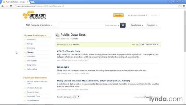 Amazon Web Services Public Data Sets: Up and Running with Public Data Sets