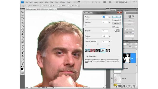 The Masks panel: Photoshop CS4 New Features