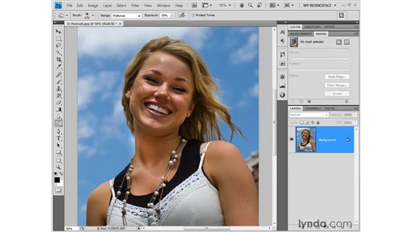 The improved toning tools: Photoshop CS4 New Features